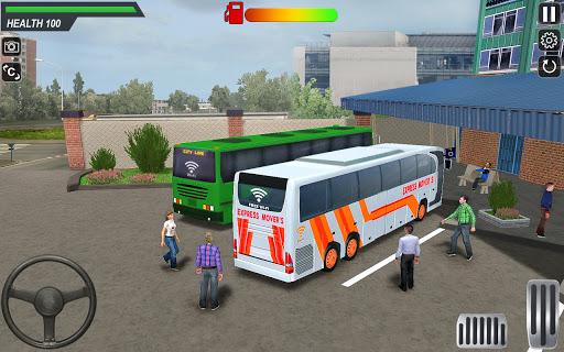 City Coach Bus Driving Sim 2 : Bus Games 2020  screenshots 3