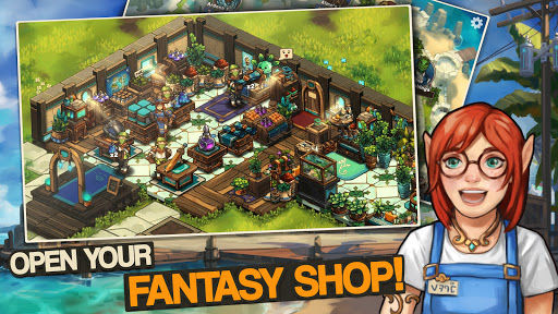 Tiny Shop: Cute Fantasy Craft, Design & Trade RPG 0.1.12 screenshots 1