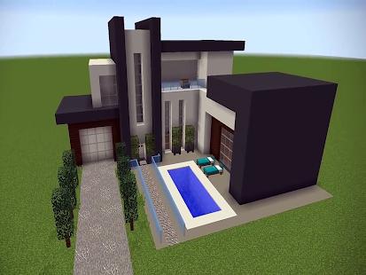 New Modern House for Mineu273fu273fu273fcraft - 500 Top Design 6.7.77 Screenshots 5