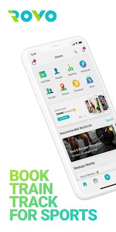 Rovo - Sports, Fitness, Yoga Tracker & Communityのおすすめ画像1