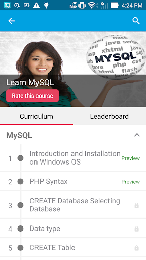 Learn MySQL by GoLearningBus For PC Windows (7, 8, 10, 10X) & Mac Computer Image Number- 8