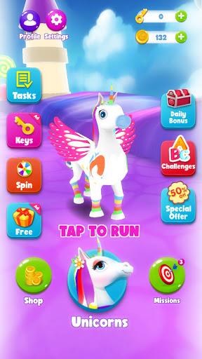 Unicorn Runner 3D - Super Magical Runner Adventure 1.0.2 screenshots 4