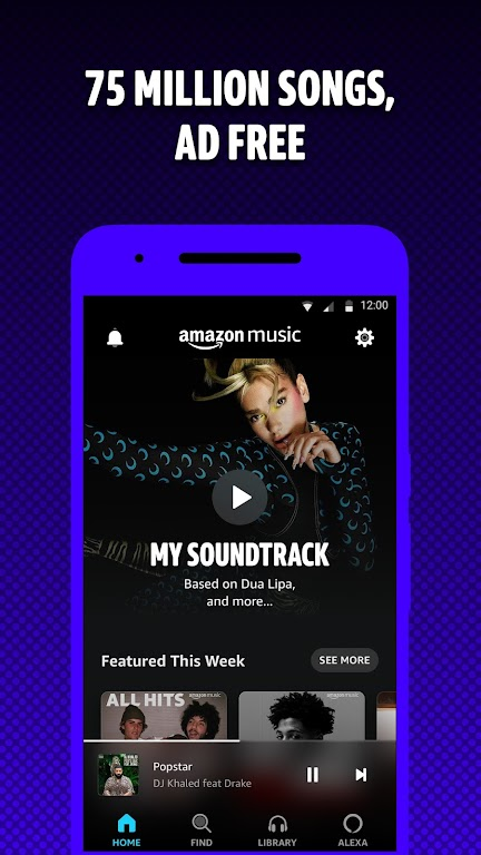 Amazon Music: Discover Songs poster 0