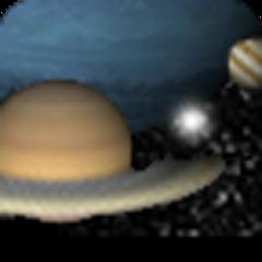 在太陽系行星(3D)
