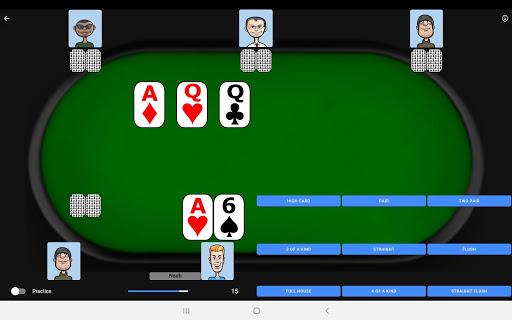 Poker Trainer - Poker Training Exercises 3.1.8 screenshots 8