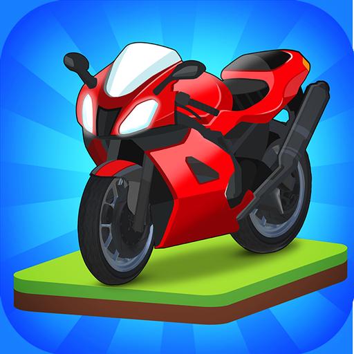 Merge Bike game