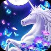 Graceful Unicorn Live Wallpaper