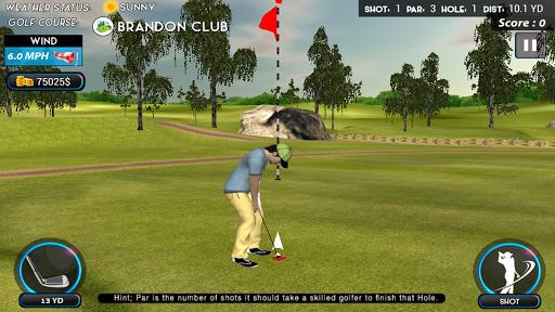 Real Star Golf Master 3D apkpoly screenshots 4