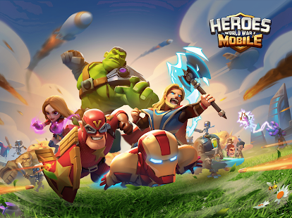 Heroes Mobile: World War Z Screenshot