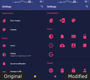 Settings Editor Pro Screenshot