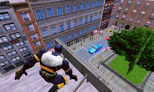 grand panther flying superhero city battle screenshot 1