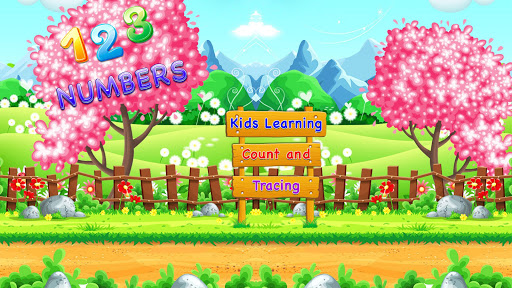 123 numbers : kids learning counting & tracing screenshot 1