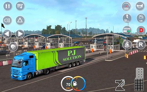 Indian Mountain Heavy Cargo Truck : Euro Truck Sim android2mod screenshots 12