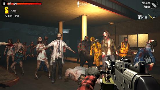 Zombie Hunter D-Day : Offline game
