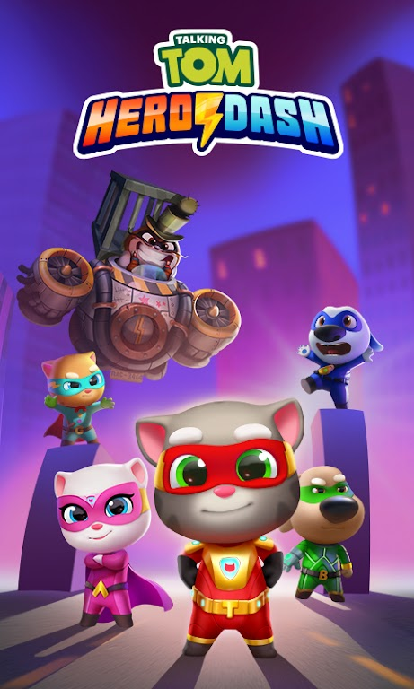 Talking Tom Hero Dash - Run Game  poster 7