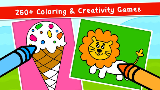 Coloring Games for Kids - Drawing & Color Book 2.4.5 screenshots 2