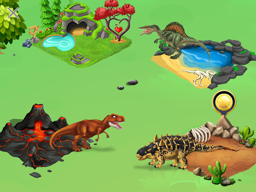 DINO WORLD - Jurassic dinosaur game 12.50 screenshots 2