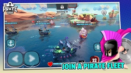Pirate Code MOD APK (Unlimited Health) 2