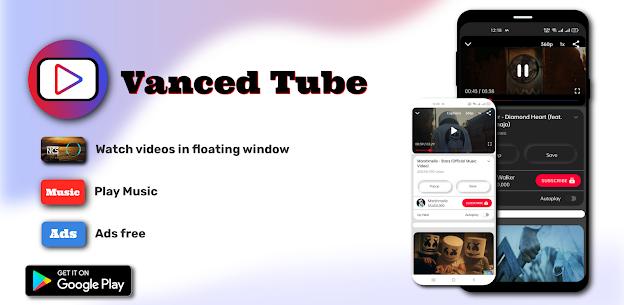 Ücretsiz Vanced Tube – Vanced Tube ADs Free Video Tube 3
