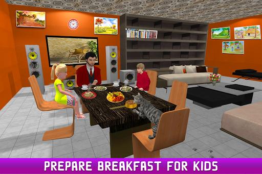 Code Triche Simulateur de papa unique virtuel APK MOD (Astuce) screenshots 2