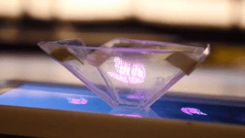 Vyomy 3D Hologram Earth & Moon