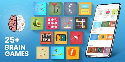 Brain Games For Adults - Brain Training Games Apkfinish screenshots 1