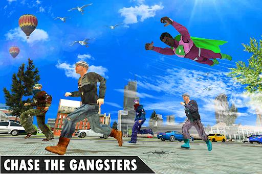 Black Rope Hero Vegas Mafia Superhero Crime Battle  screenshots 4