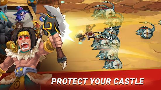 Castle Defender Premium: Hero Idle Defense TD apk