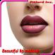 美しい唇の化粧 - Androidアプリ