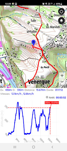 GPS for Hiking, Cycling, Hunting and offline maps modavailable screenshots 5