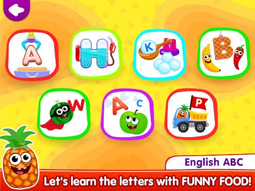 Funny Food!ud83eudd66learn ABC games for toddlers&babiesud83dudcda 1.8.1.10 screenshots 9