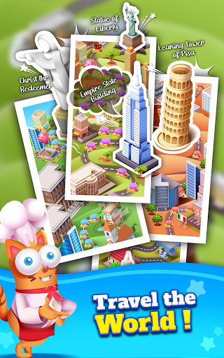 Kitten Games - Bubble Shooter Cooking Game apkmr screenshots 23