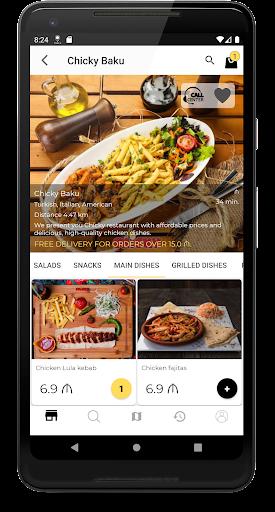 Hungry.az - food ordering 2.2.2 Screenshots 3