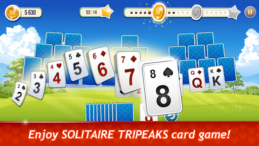 Solitaire TriPeaks Rose Garden - free card game 1.0.9 screenshots 1