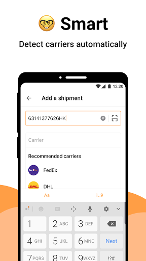 AfterShip Package Tracker - Tracking Packages Apkfinish screenshots 4