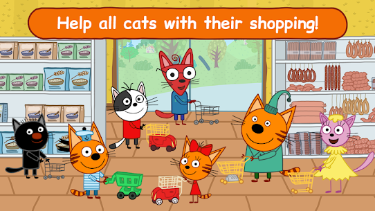 Kid-E-Cats Shopping Games for Kids & Three Kittens 7