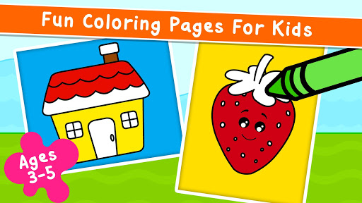 Coloring Games for Kids - Drawing & Color Book 2.4.5 screenshots 1
