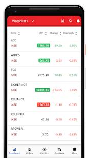 Trade Free - Kotak Stock Trader Screenshot