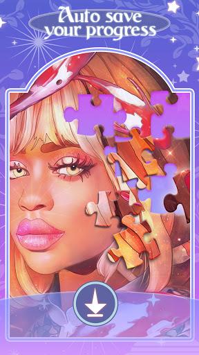 Happy jigsaw puzzles - calm & relax Apkfinish screenshots 5