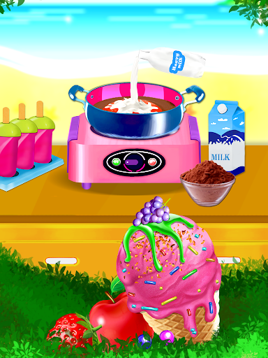 Télécharger Ice Cream Diary - Cooking Games APK MOD 2