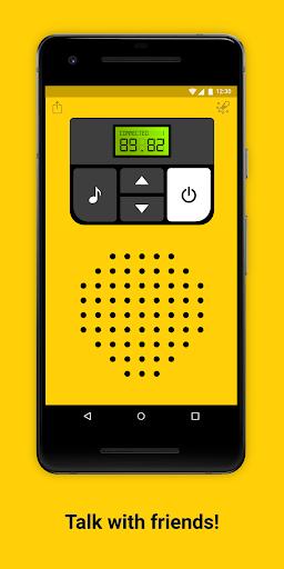 Walkie-talkie - COMMUNICATION android2mod screenshots 1