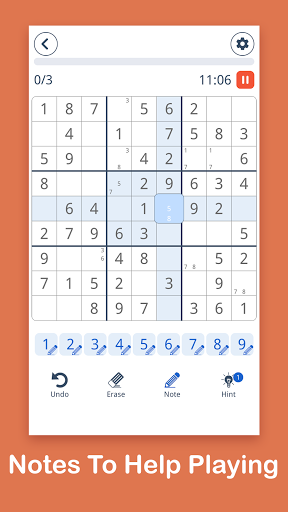 Sudoku: Easy Sudoku & Free Puzzle Game 1.0.8 screenshots 2