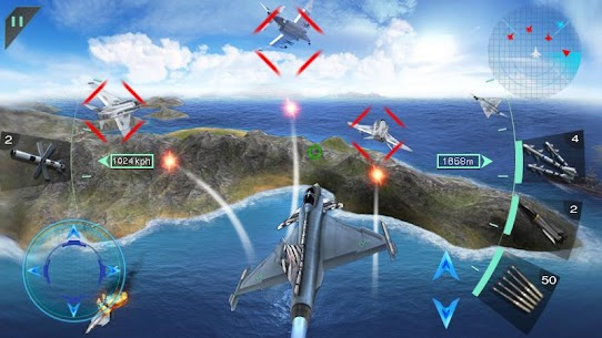 Download Sky Fighters 3D MOD APK 1.5 [Money/Free Shopping] 3
