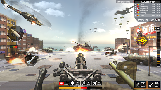 Sniper Game: Bullet Strike - Free Shooting Game Screenshot