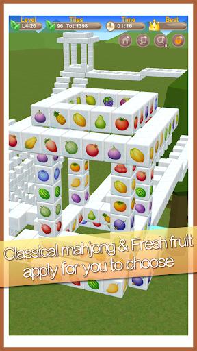 Stacker Mahjong 3D  II - Fantasy World  screenshots 3