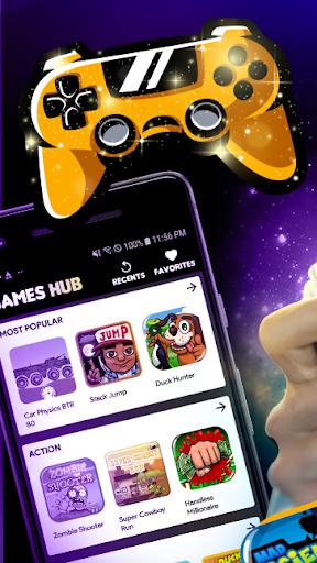 Games Hub - Play Fun Free Games apktram screenshots 1