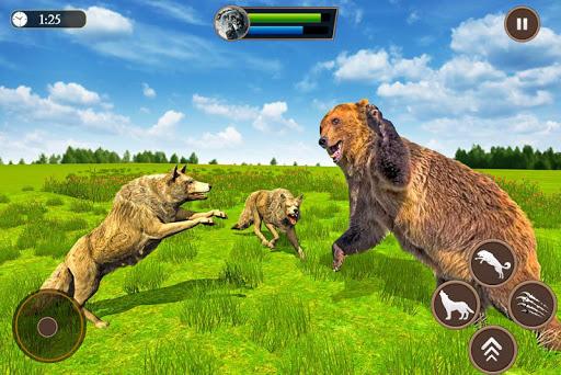 Wolf Simulator 2020: Animal Family Sim Games apktreat screenshots 2
