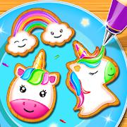 Unicorn Cookie Maker: Kitchen Games For Girls