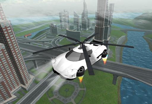 Flying Car Rescue Flight Sim 3.1 screenshots 2