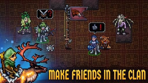 Dungeon Winners RPG u22c7 Retro Pixel Online Roguelike 1.10037 screenshots 4